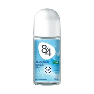 8X4 Ocean Fresh Deodorant Roll-On Kadın 50 ml