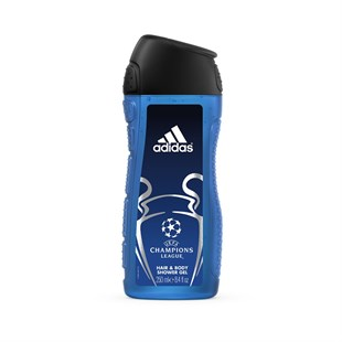 Adidas Champions League Edt + Duş Jeli Set Erkek 100 ml