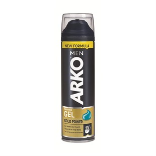 Arko Traş Jeli Gold Power 200 ml