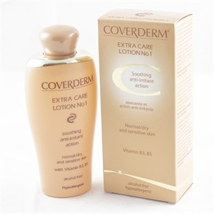 Coverderm Extra Care Losyon 1 Sooting Anti-İrritant Losyon 200 ml
