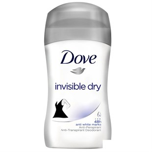 Dove Deodorant Stick Invisible Dry Yeni 50 ml