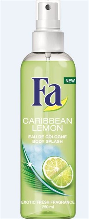 Fa Caribbean Lemon Body Splash 250 ml