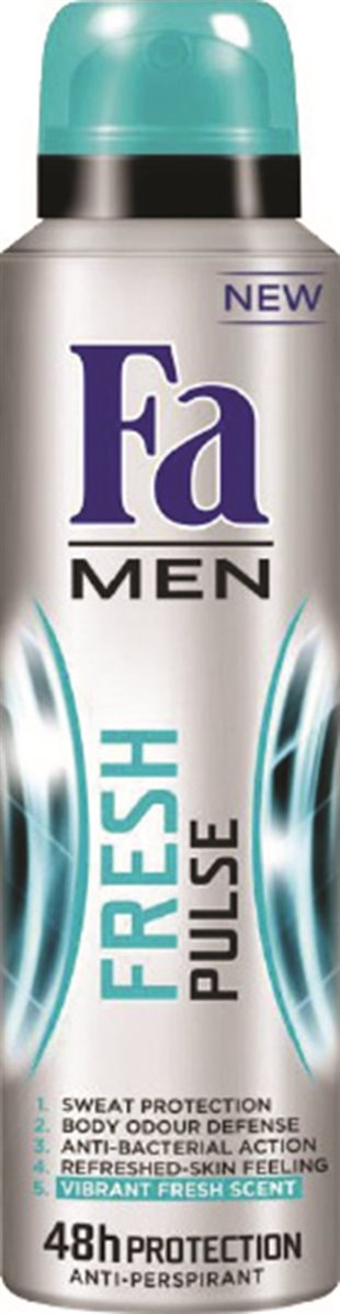 Fa Deodorant Fresh Pulse 150 ml