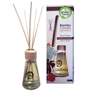 Green World Bambu Çubuklu Oda Kokusu Kaşmir Salon 75 ml