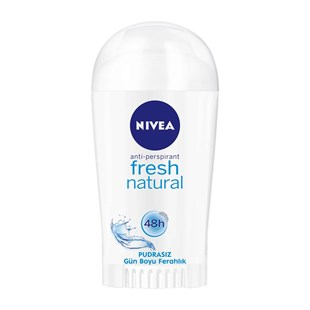 Nivea Fresh Natural Deodorant Stick Kadın 40 ml