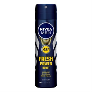 Nivea Fresh Power Boost Deodorant Erkek 150 ml