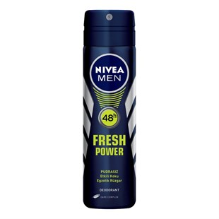 Nivea Fresh Power Deodorant Erkek 150 ml