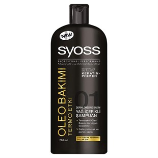 Syoss Şampuan Oleo 700 ml