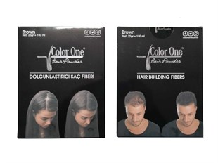 Color One Hair Saç Pudrası Color One Hair Powder Brown