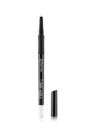 Flormar Beyaz Eyeliner Style Matic Eyeliner S09 White Frost 0717013