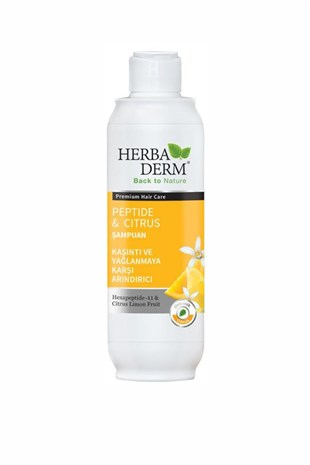 Herbaderm Peptide & Citrus Şampuan 330 ml