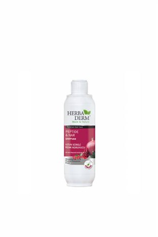 Herbaderm Peptide & Nar Şampuan 330 ml